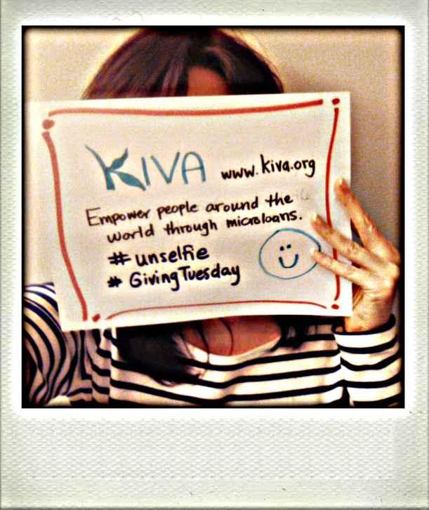 Unselfie for Kiva